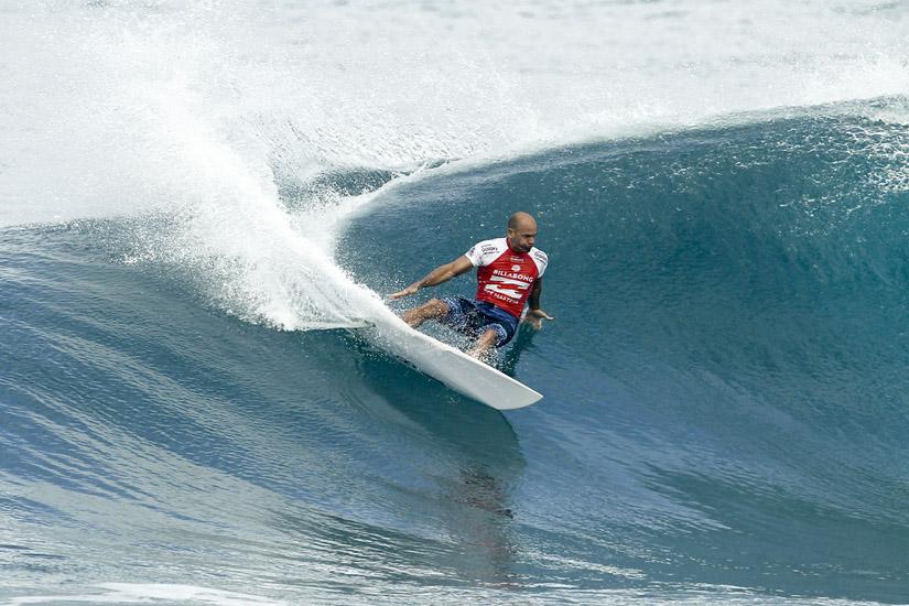 Kelly Slater: 11 vezes campeão do mundo de surf | Foto: Kirstin/WSL