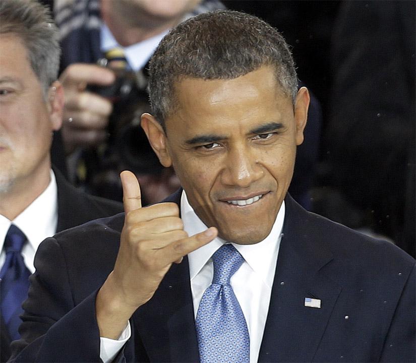 Barack Obama: o presidente dos Estados Unidos é um fã do shaka