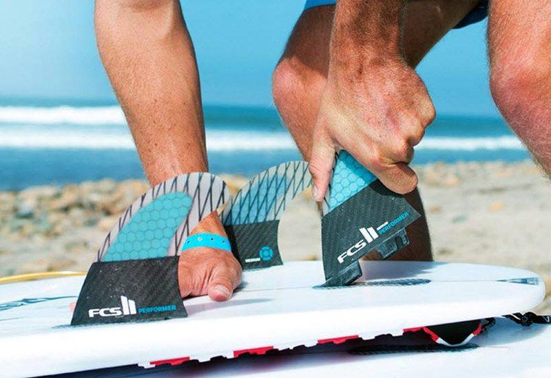 FCS II: o sistema de quilhas para pranchas de surf