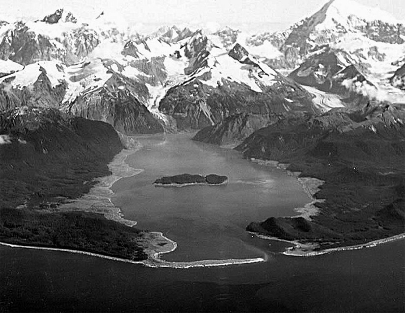 Baía de Lituya: a região em forma de T situada no Alasca registou a maior onda de todos os tempos